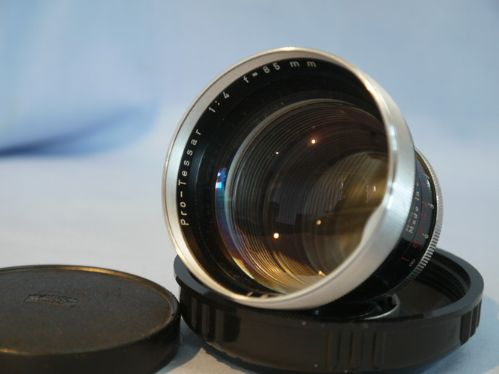 Carl Zeiss 85mm F4 Pro Tessar - For The Contaflex SLR's £29.99